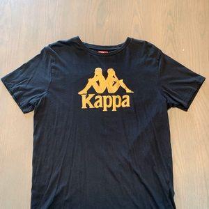 Vintage Kappa XL Black Shirt